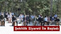 Tosya'da 15 Temmuz Etkinlikleri Şehitlik Ziyareti İle Başladı