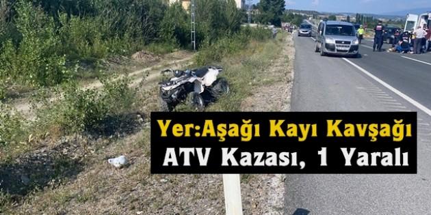 Tosya'da kaza, 1 ağır yaralı