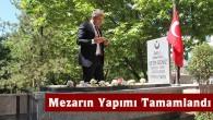 Tosyalı Şehidin Mezarının Yapımı Tamamlandı