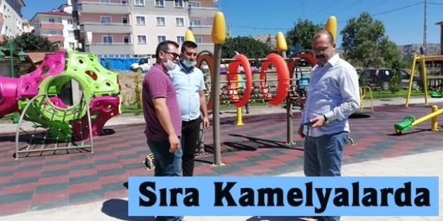 Tosya Belediyesi Yeşil Alan Projelerine Devam Ediyor