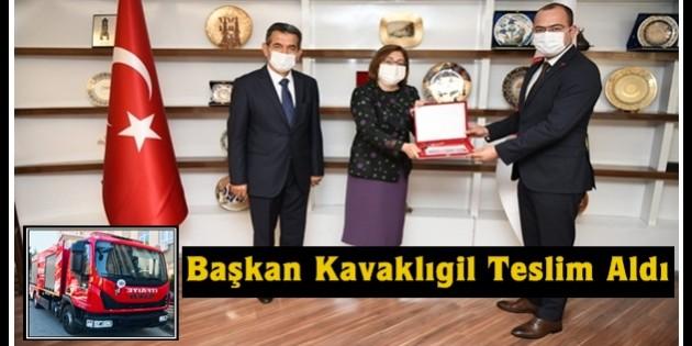 Tosya Belediyesine Yeni İtfaiye Aracı
