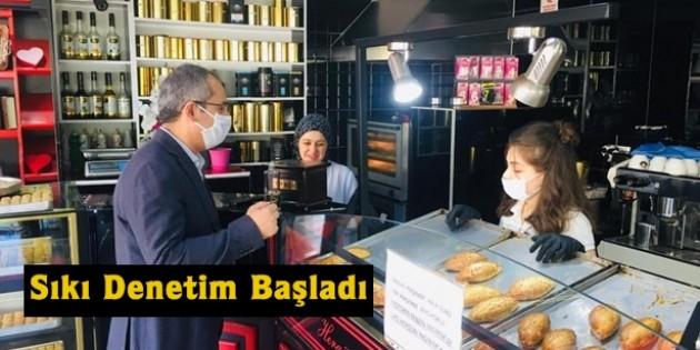 Tosya'da Kovid 19 Denetimi Yapıldı