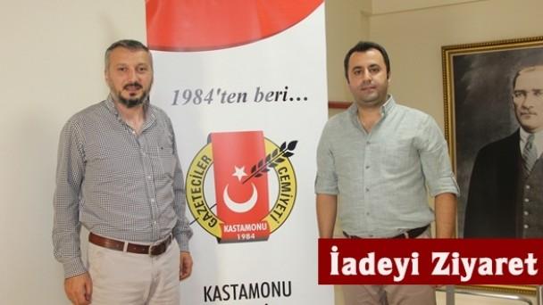 BİK Temsilcisi Fatih Rençber'den KGC'ye iadeyi ziyaret