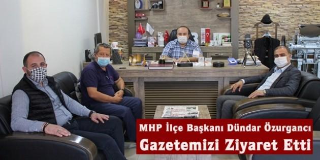 MHP İlçe Başkanından Açıksöz Gazetesine Ziyaret