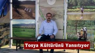 Otobüs Durakları Tosya Kültürünü Yansıtıyor