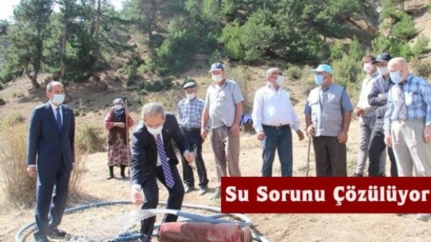 Tosya Akseki Köyünün Su Sorunu Çözülüyor