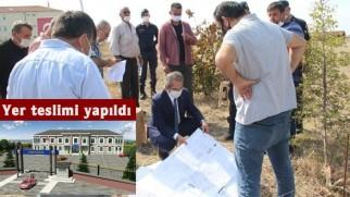 Tosya Jandarma binası yer teslimi yapıldı