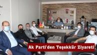 Ak Parti İlçe Başkanından Gazetemize Ziyaret