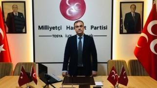 MHP Tosya İlçe Başkanı Mustafa Dündar Özurgancı'nın 21 Ekim Dünya Gazeteciler Günü mesajı