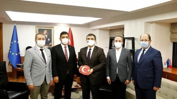 AK Parti Tosya İlçe Teşkilatından Bakan Yardımcısı Kaymakcı'ya Teşekkür Ziyareti