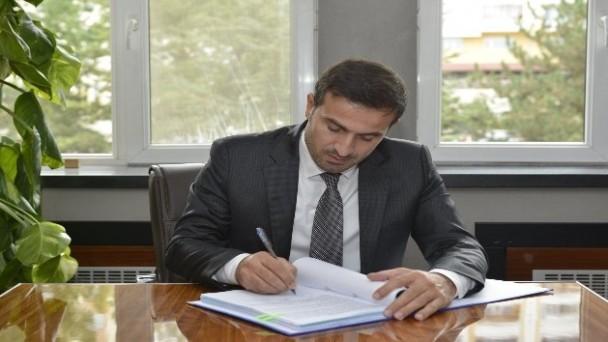 Kayser Yeraltı Barajının sözleşmesi imzalandı