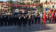 Mustafa Kemal Atatürk Saygıyla Anıldı