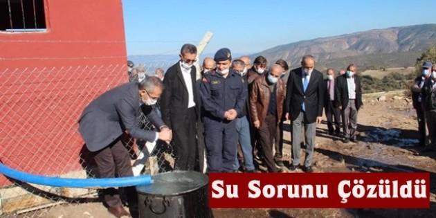 Tosya Sevinçören Köyü'nün su sorunu çözüldü