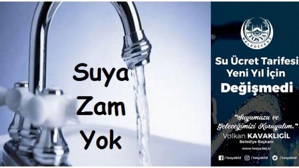 Belediye Başkanı Volkan Kavaklıgil Açıkladı: 2021 Yılında Suya Zam Yok