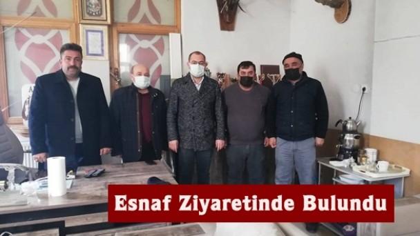 Belediye Başkanı Volkan Kavaklıgil'den Esnaf Ziyareti