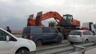 Tosya D-100 Karayolunda Kaza Ucuz Atlatıldı