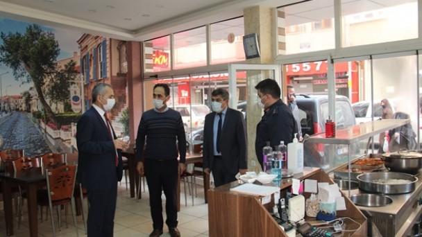 Tosya'da covid19 denetimleri devam ediyor