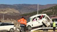 Tosya'da Kaza 2 ölü, 2 yaralı