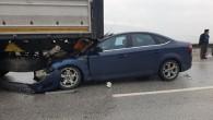 Tosya'da zincirleme kaza, 4 yaralı