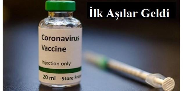 Covid-19 aşıları Tosya ilçesine ulaştı