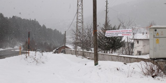 Covid19 virüsü Tosya'nın bu köyüne ulaşamadı