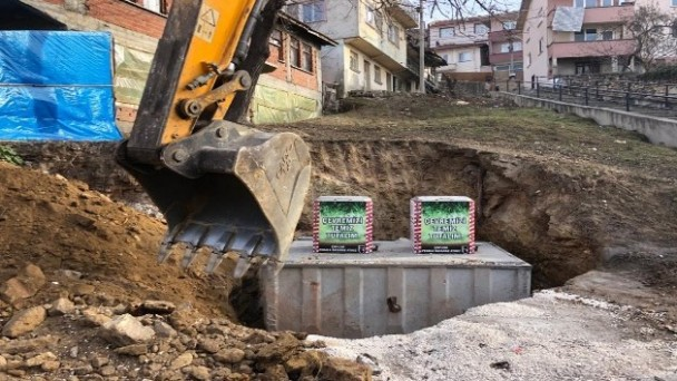 Kastamonu'da 69 yeraltı çöp konteyneri kuruldu