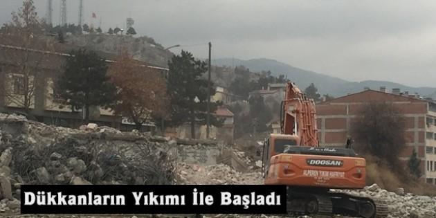 Tosya Adliye Sarayı Binası yapımı için start verildi