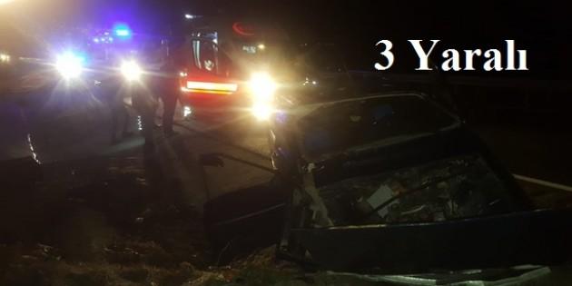Tosya'da kaza, 3 yaralı