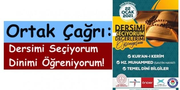 Tosya'da temsilciliği bulunan STK'lardan öğrencilerimize ortak çağrı: