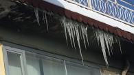 Çatılarda Buz Tehlikesi
