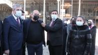 Sanayici ve İşadamı İsmail Ercan'a Ak Parti Rozetini Başkan Corcor Taktı