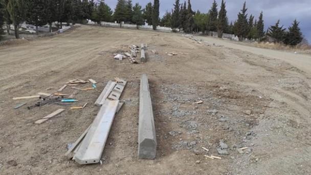 Tosya Asri Mezarlığı Genişletiliyor