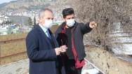 Tosya Kaymakamı Deniz Pişkin Adalet Sarayı Şantiye Alanını Gezdi