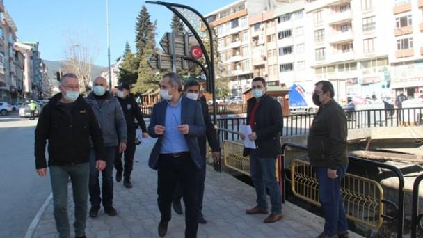 Tosya'da sokağa çıkma kısıtlamasına denetleme