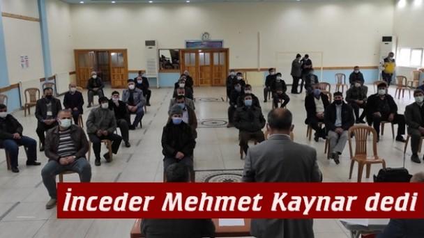 İncebel Köyü Derneği Mehmet Kaynar'la devam dedi