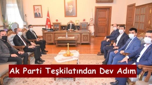 !!!Tosya Organize Sanayi Bölgesinin büyütülmesi için Tosya Ak Parti İlçe Yönetiminden DEV adım.!!!