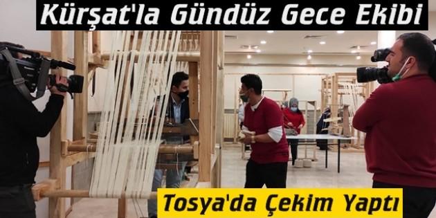 Kanal 7 Gündüz Gece Program Ekibi Tosya'da Çekim Yaptı