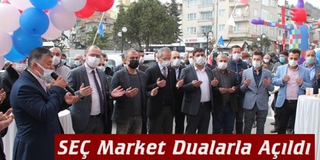 SEÇ Market Dualarla Açıldı