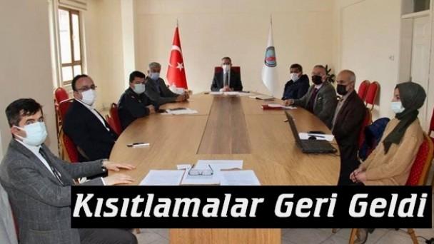 Tosya'da kısıtlamalar tekrar başladı