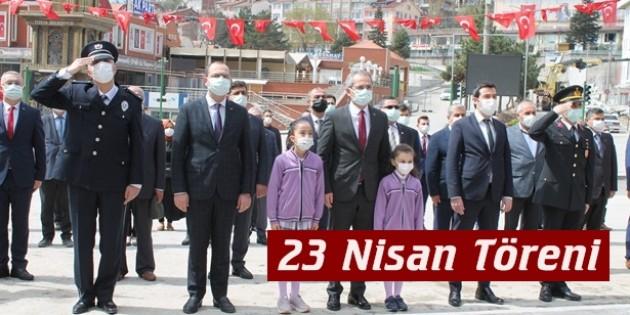 Tosya'da Ulusal Egemenlik ve Çocuk Bayramı törenle kutlandı