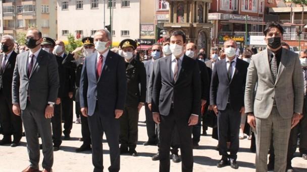 Tosya'da 19 Mayıs Gençlik ve Spor Bayramı törenle kutlandı