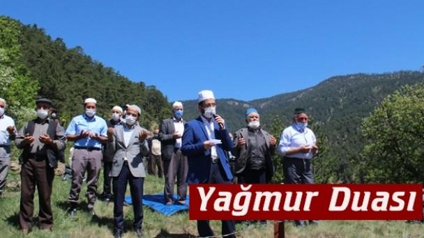 Tosya'da yağmur duası yapıldı
