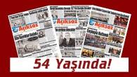 Tosya'nın Yarım Asırlık Tarihini Kayıt Altına Alan Gazeteniz Açıksöz 54 Yaşında!