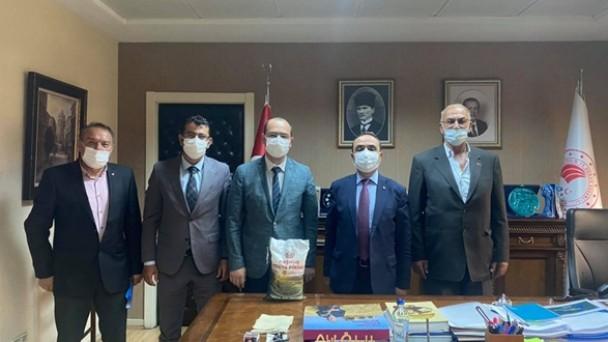 Başkan Kavaklıgil'den Bakan Yardımcısına Ziyaret
