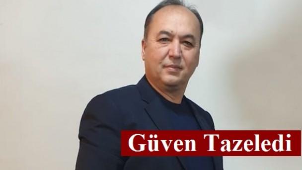 Kontraplak Üreticileri Derneği Başkanı İsmail ERCAN Güven Tazeledi