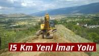 Tosya Belediyesinden 15 Km Yeni İmar Yolu