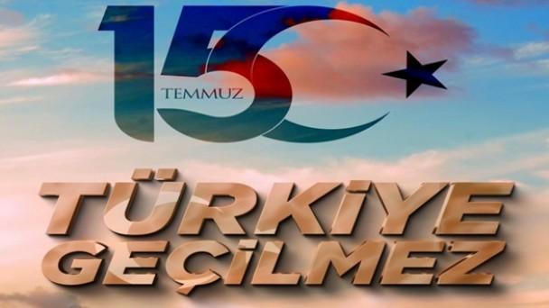 15 Temmuz Milli Birlik ve Demokrasi Günü Anma Etkinlikleri
