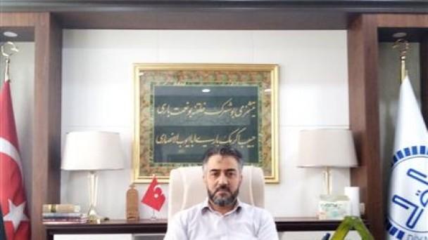 Basri Bektaş Eyüp Sultan'da Görevine Başladı