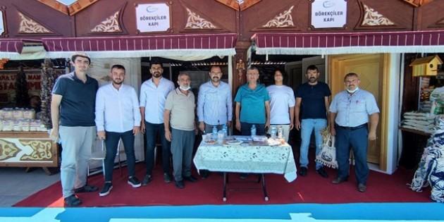 Kastamonu Eski Valisi Erdoğan Bektaş'tan Tosya İpekyolu Fuarına Ziyaret