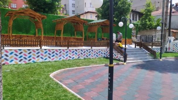 Mehmet Erkaragülle Parkı Göz Kamaştırıyor